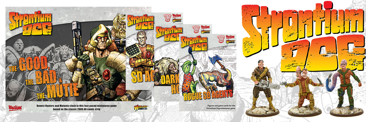 Strontium Dog Banner Collection