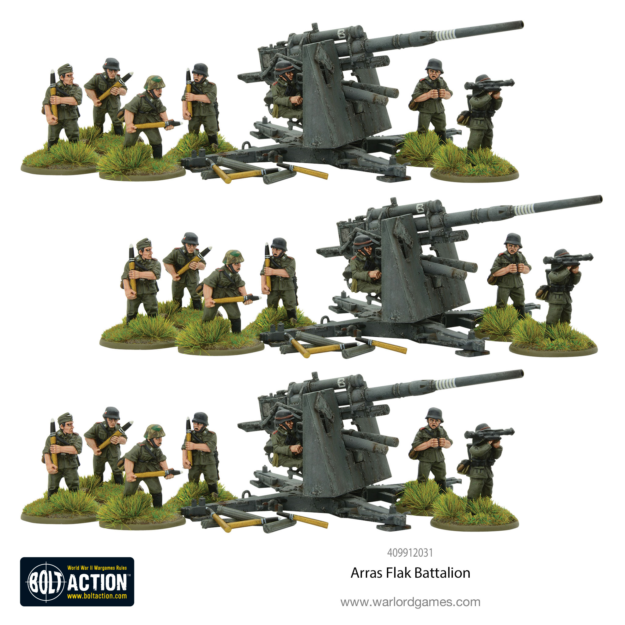 Bolt Action Bundle Arras Flak Battalion
