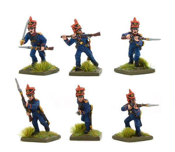 New Black Powder Napoleonic French Marines of the Guard