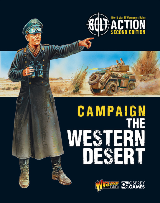 New Bolt Action Campaign Book The Western Desert