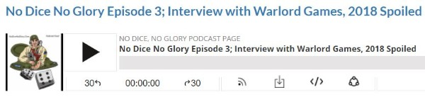 No Dice No Glory Podcast