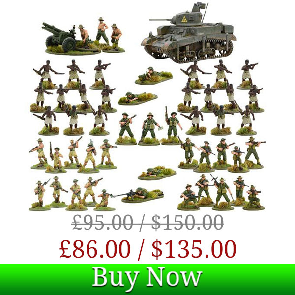 Bolt Action Australian Army Deal