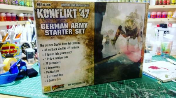 Konflikt 47 German Starter Set Unboxing