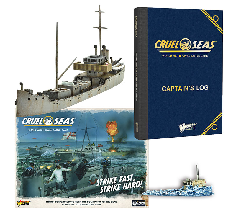 Pre-order Cruel Seas Gold Collection