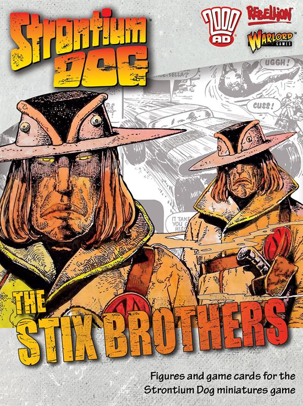 New Strontium Dog The Stix Brothers Box