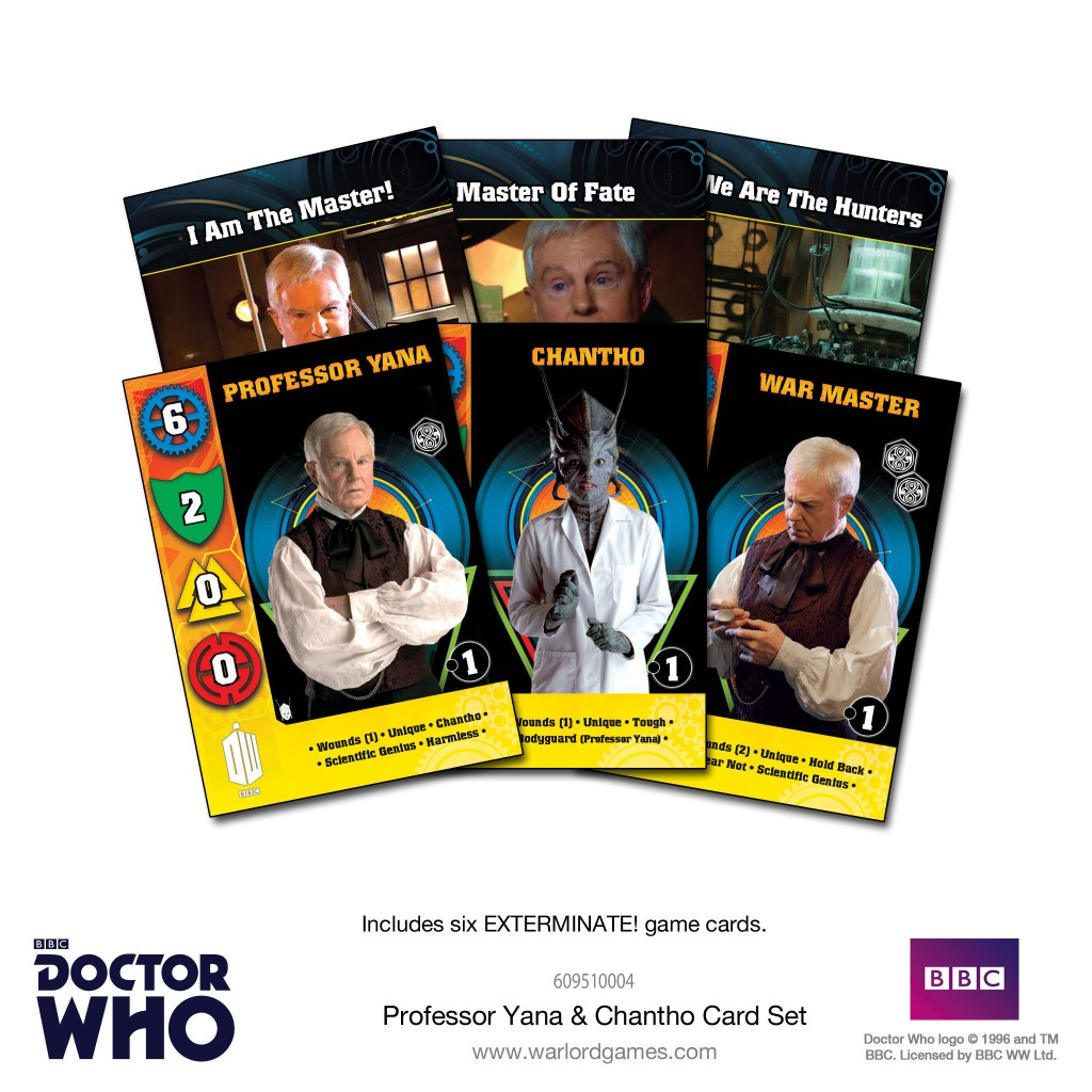 Professor Yana & Chantho Card Set