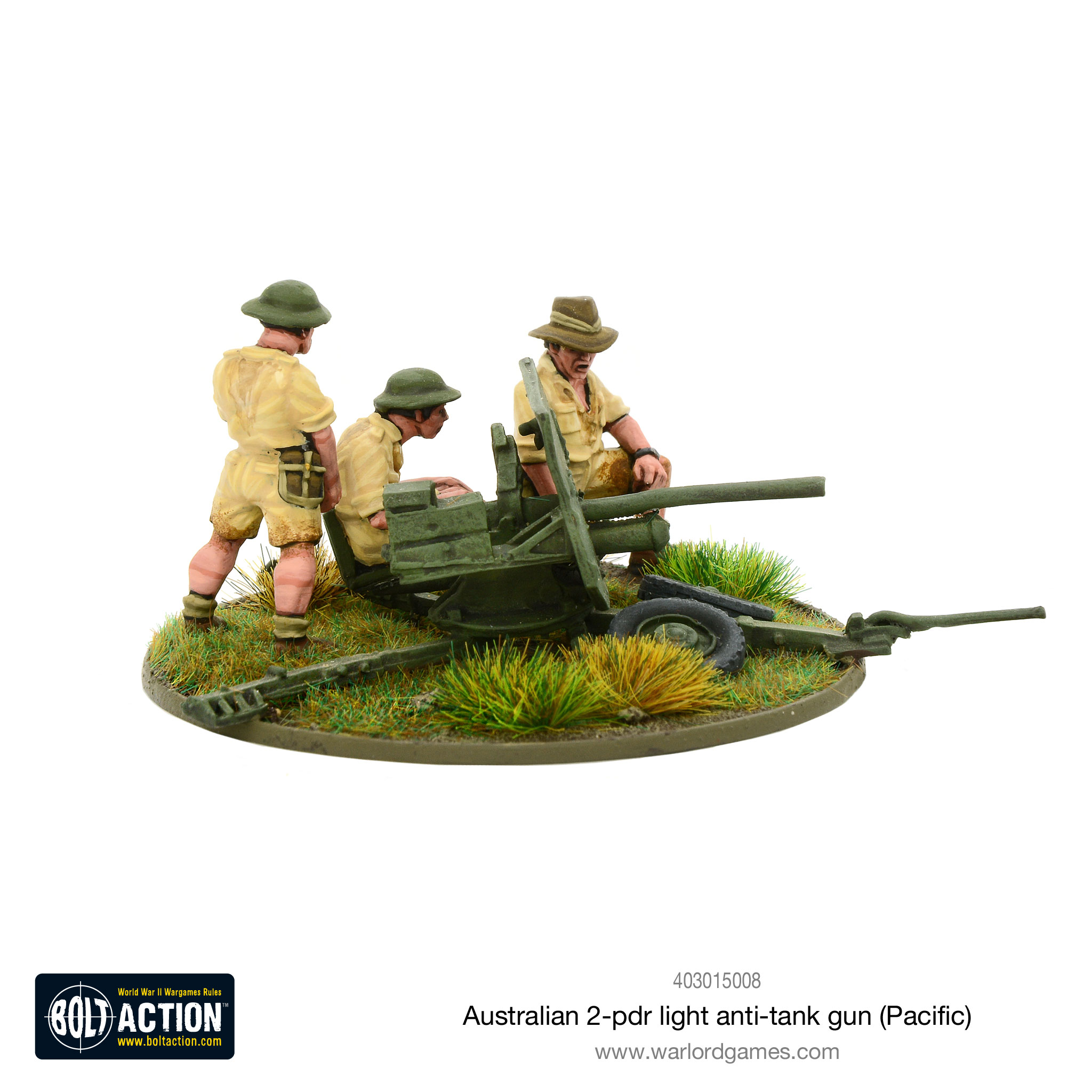 Coming Soon Bolt Action Australian 2 pdr light anti-tank gun
