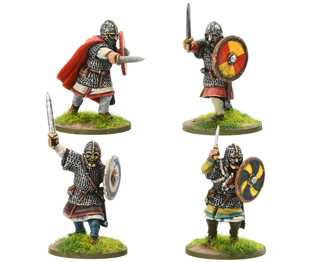 New Arthurian Royal Anglian Huscarl Swordsmen