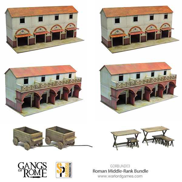 Gangs of Rome Rome Middle Rank Bundle