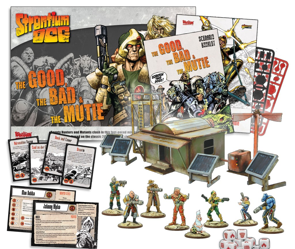 The Good, The Bad, The Mutie Strontium Dog Starter Out Now