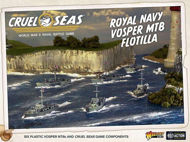 Pre-order Cruel Seas Royal Navy Vosper MTB Flotilla