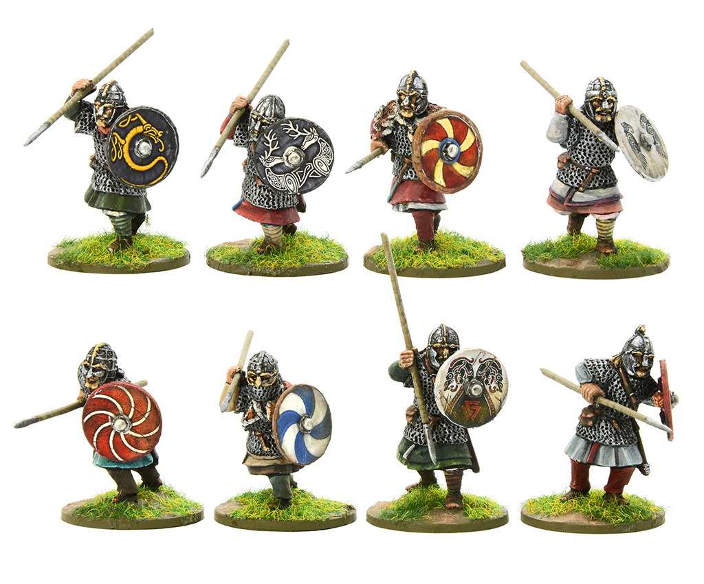 New Arthurian Royal Anglian Huscarl Spearmen