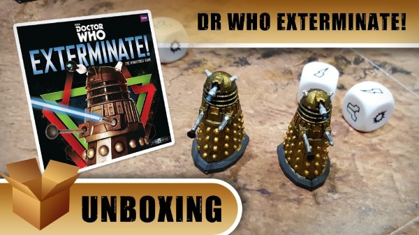 Doctor Who Exterminate! Unboxing