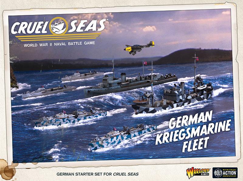 Pre-order Cruel Seas German Kriegsmarine Fleet