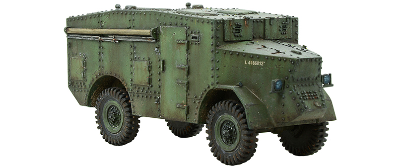 Coming Soon Bolt Action British Guy Lizard Command Vehicle