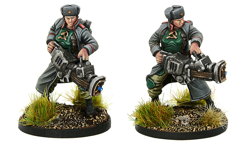 New Konflikt '47 Soviet Daughters of the Motherland Patriot Team