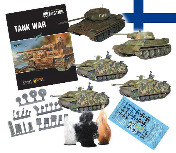 Bundle of Bolt Action Finnish Tanks