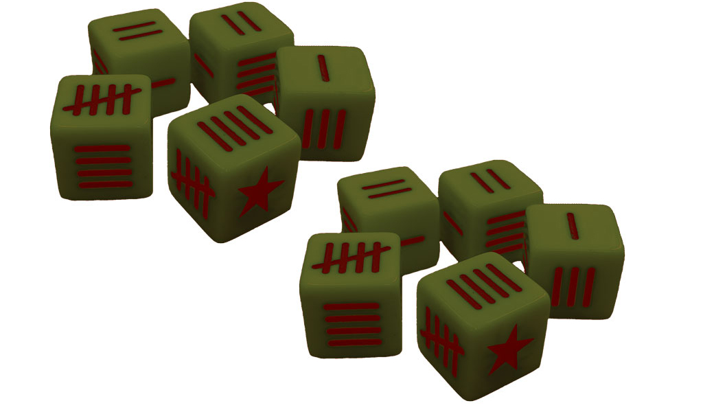 New Blood Red Skies Dice Pack Soviet