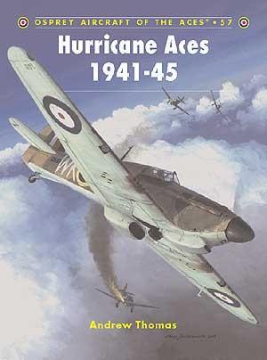 New Osprey Publishing Hurricane Aces 1941-45