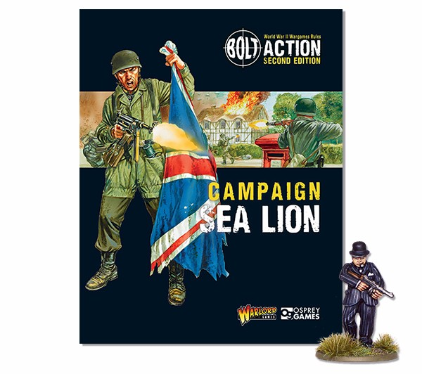 Bolt Action Book Expansion Campaign Sea Lion