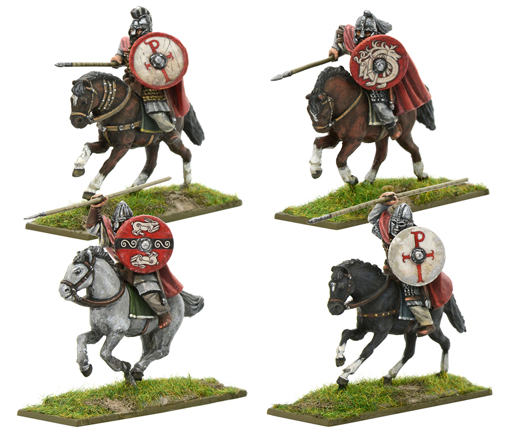 New Hail Caesar Arthurian Romano British Mounted Knights