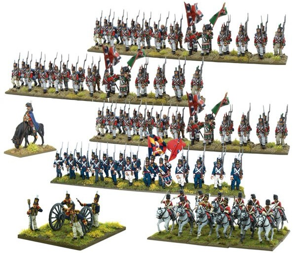 NAPOLEONIC PENINSULAR CAMPAIGN STARTER ARMIES