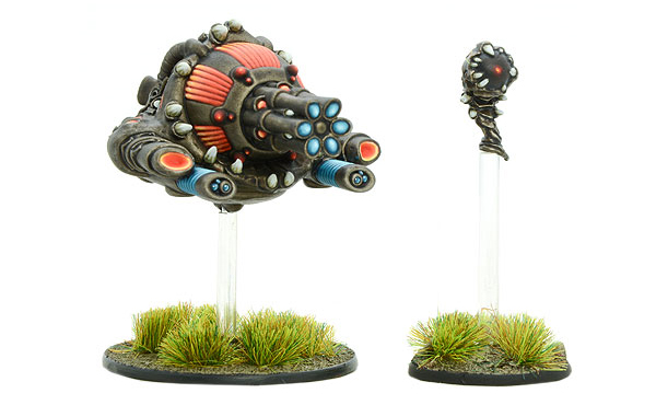 Models of Gates of Antares Isorian Andhak with Fractal Cannon