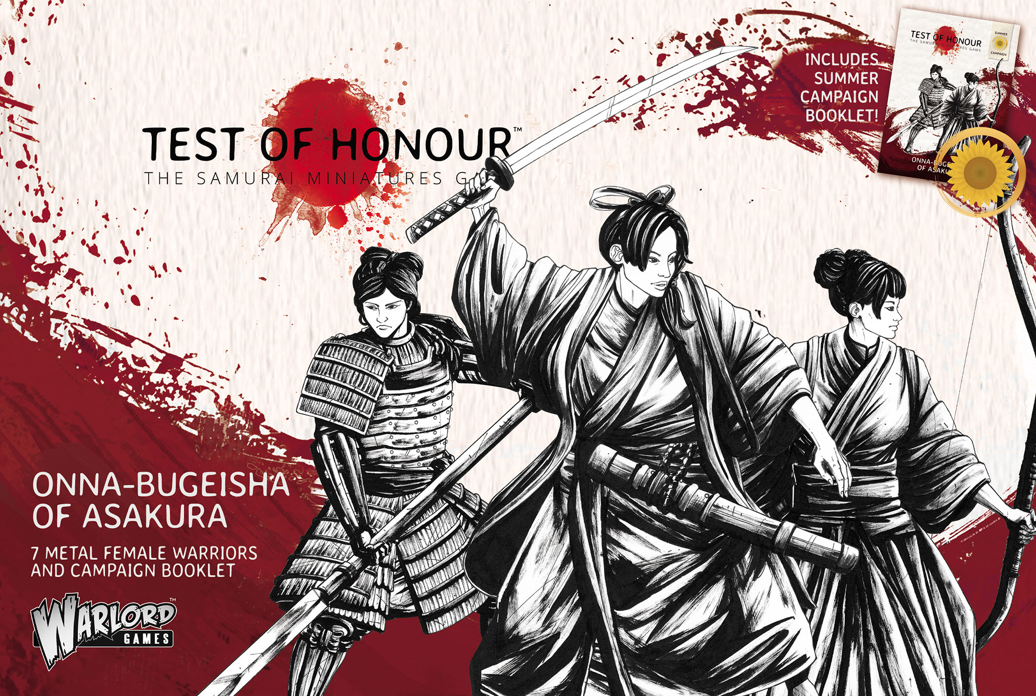 Pre Order Test of Honour Onna Bugeisha of Asakura