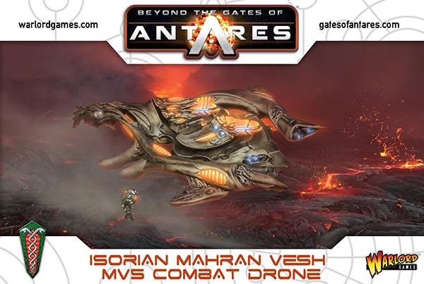 New Gates of Antares Isorian Mahran Vesh MV5 Combat Drone