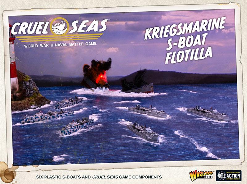 Pre-order Cruel Seas Kriegsmarine S-Boat Flotilla