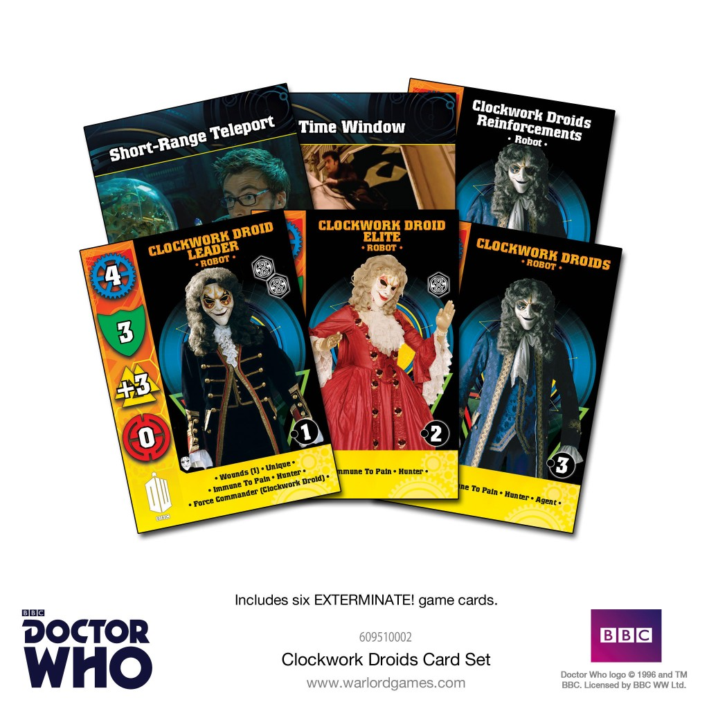 Clockwork Droids Card Set