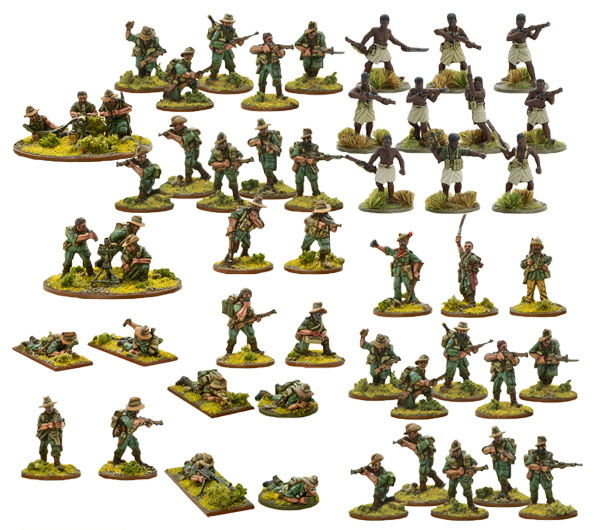 Bolt Action British Chindit Bundle