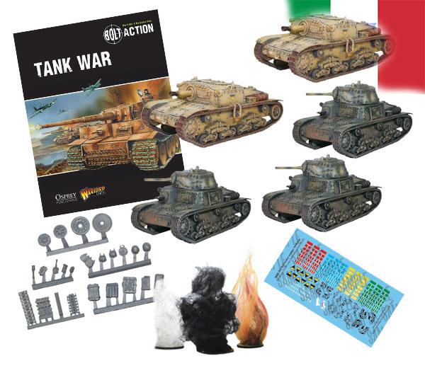 Bundle of Bolt Action Italian Tanks