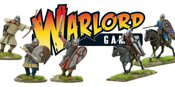Warlord Logo with New Hail Caesar Norman Models