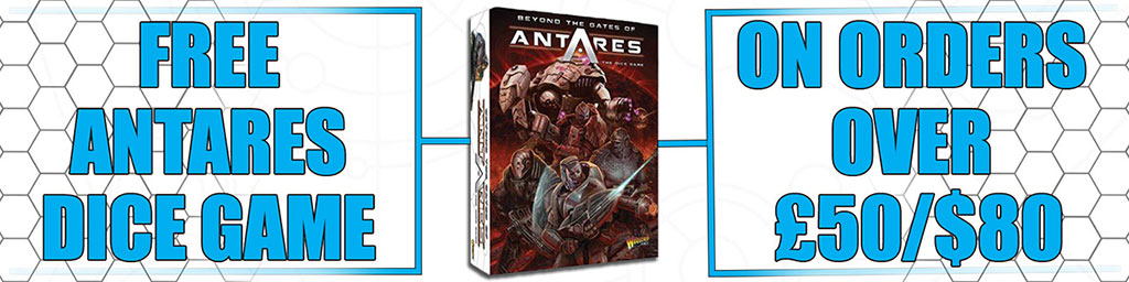 Orders over £50 Receive Antares Dice Game For Free