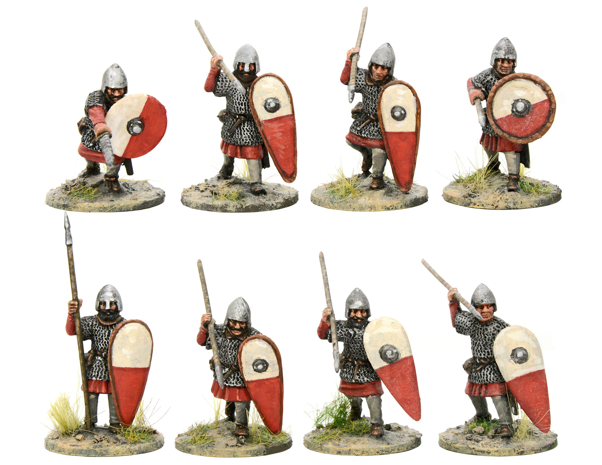 New Hail Caesar Dark Ages Castillian Armoured Infantry