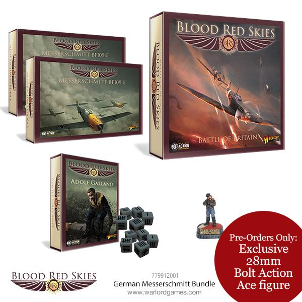 Blood Red Skies German Messerschmitt Bundle in store: