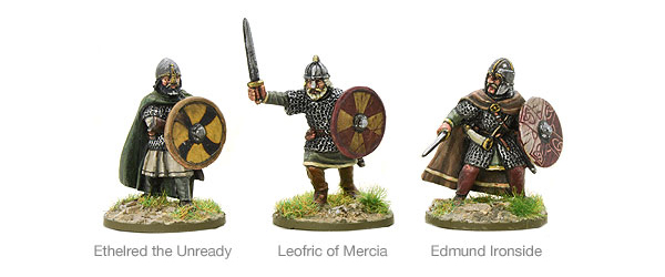 New Hail Caesar SAGA Saxon Earls and Kings 11th Century