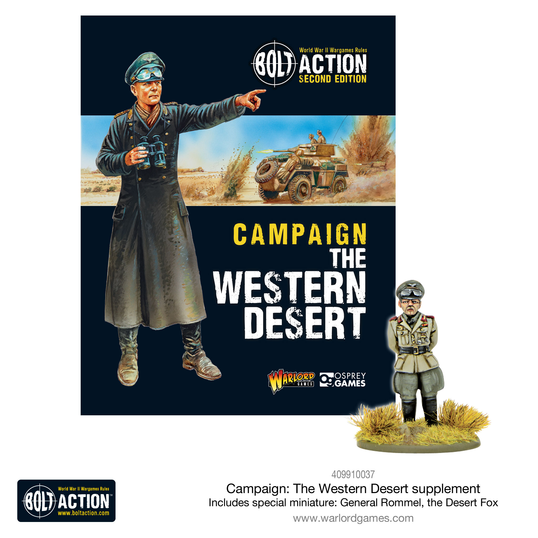 Pre Order Bolt Action The Western Desert Campaign Book