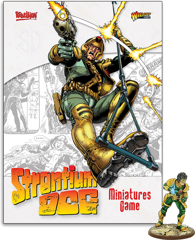 New Strontium Dog Rulebook and Special Miniature