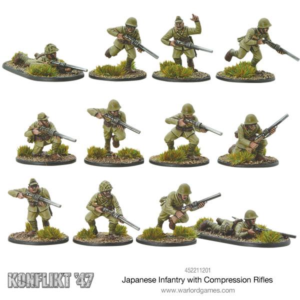 Japanese Compression Rifles
