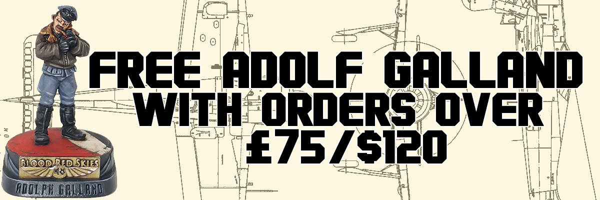 Free Adolf Galland with Orders over £75/$120