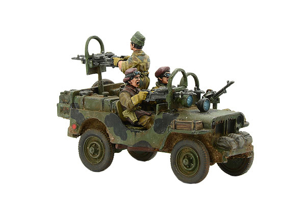 SAS Armoured Jeep (NW Europe)