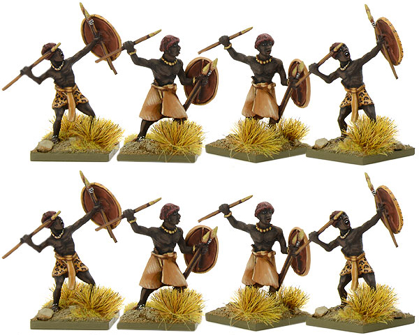 New Hail Caesar Early Nubian Javelinmen