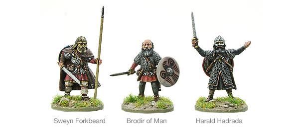 Models of Hail Caesar 11th Century Viking