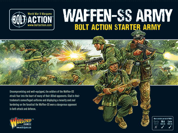 Box Cover of Bolt Action Waffen-SS Starter Army