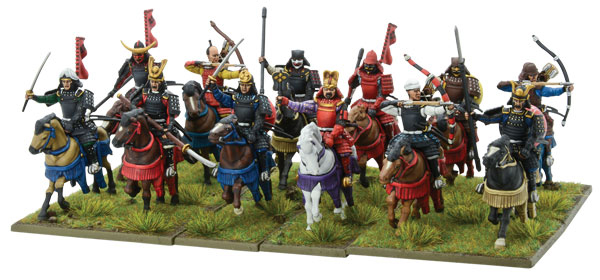 New Pike & Shotte Samurai Horsemen