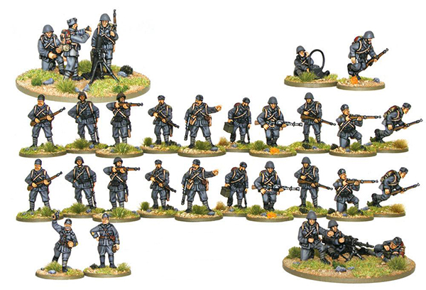 Bolt Action Italian 500 Point Army