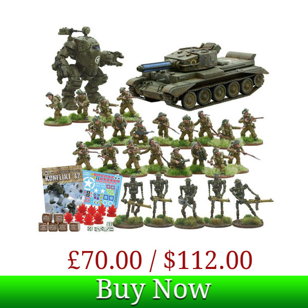 British Konflikt '47 Starter Set