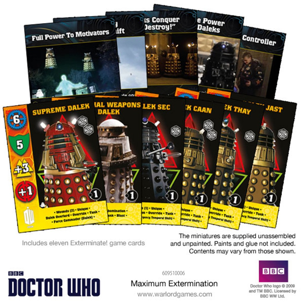 Maximum Extermination Card Set